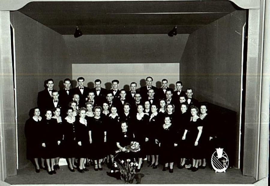 Nynäshamns ABF-kör 1944